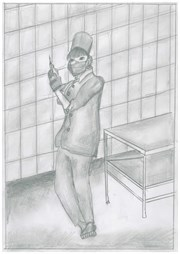 Ибрагимов Сергей, 15 лет. Мама - Ибрагимова Ирина Курбатовна - медицинская сестра. Поликлиника №1