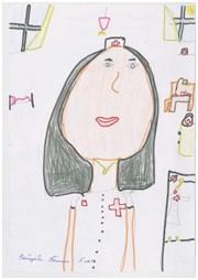 Зайцева Полина, 5 лет. Мама - Зайцева Анна Геннадьевна - медицинская сестра - анестезист. АРО.